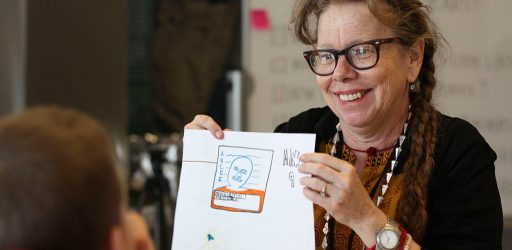 Picture This: Lynda Barry Brings Passion for Nurturing Creativity to UW-Madison and Community
