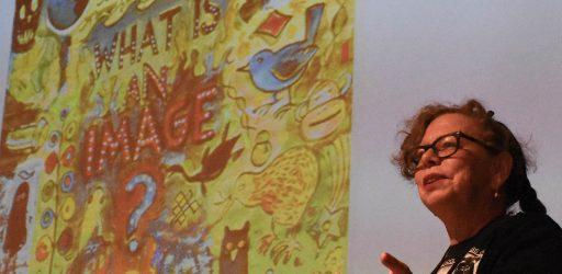 Lynda Barry at NASA: Drawing to Infinity and Beyond