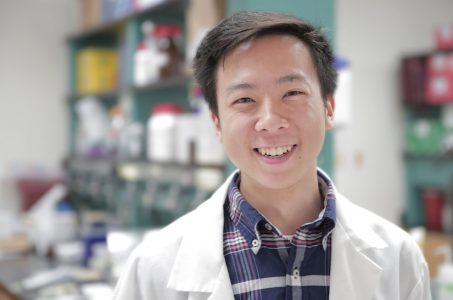 Undergraduate Nathan Wang Receives Goldwater Scholarship