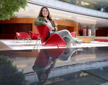Know Your Madisonian: Illumination is Goal of Discovery Hub Director Ginger Contreras