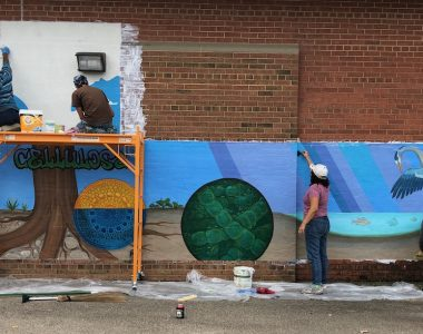 Madison Magazine: New Mural Celebrates Fusion of Science and Art